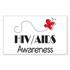 HIV/AIDS Awareness Butterfly Decal