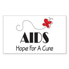Butterfly AIDS Awareness Decal