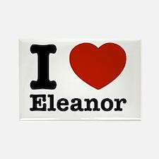 I love Eleanor Rectangle Magnet