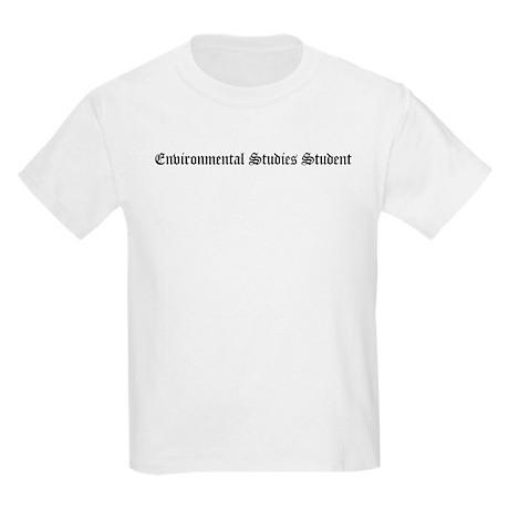 Environmental Studies Student Kids T-Shirt