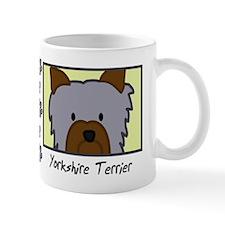 Anime Yorkie Small Mug