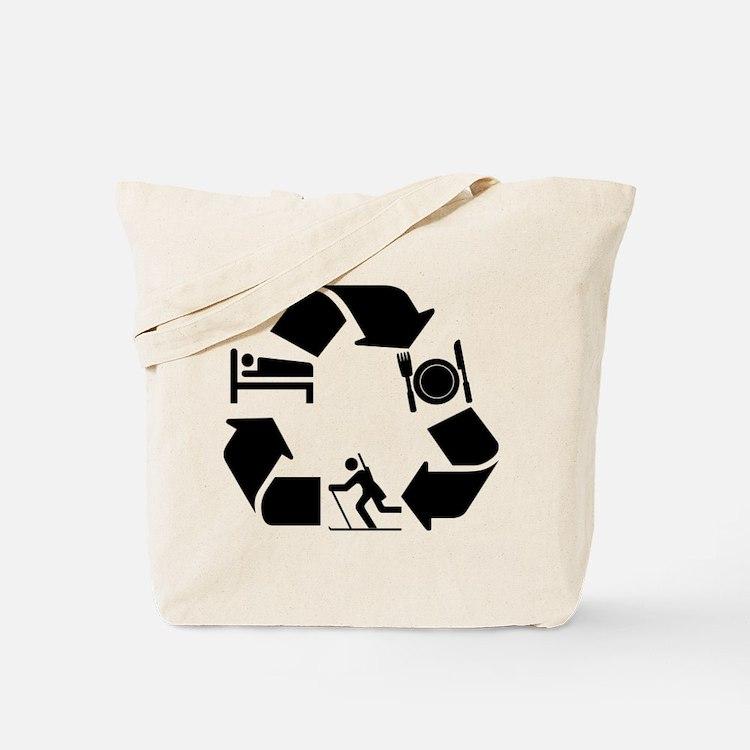 Biathlon designs Tote Bag