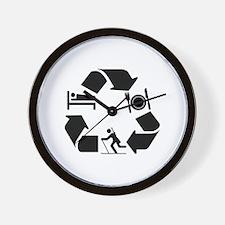 Biathlon designs Wall Clock