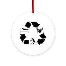 Biathlon designs Ornament (Round)