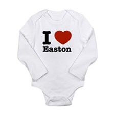 I love Easton Long Sleeve Infant Bodysuit