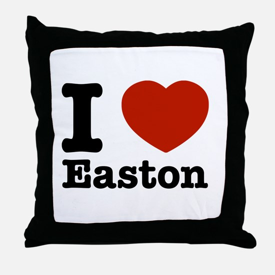 I love Easton Throw Pillow