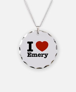 I love Emery Necklace