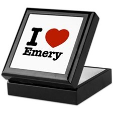 I love Emery Keepsake Box