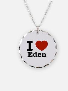 I love Eden Necklace