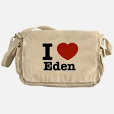 I love Eden Messenger Bag