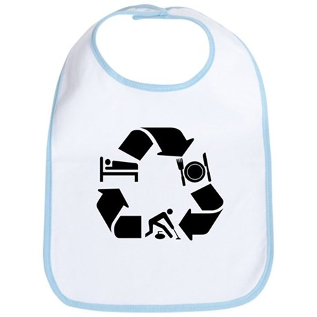 Curling designs Bib