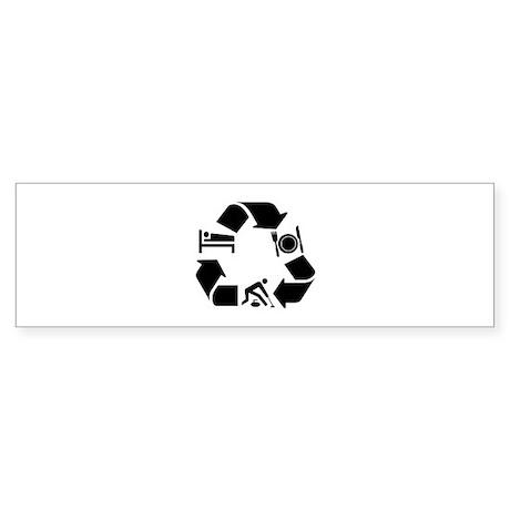 Curling designs Sticker (Bumper)