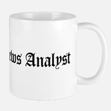Broadcast News Analyst Mug