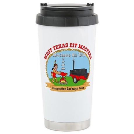 West Texas Pit Masters BBQ Stainless Steel Travel