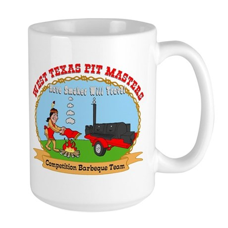 West Texas Pit Masters BBQ Large Mug