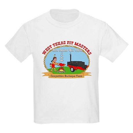 West Texas Pit Masters BBQ Kids Light T-Shirt