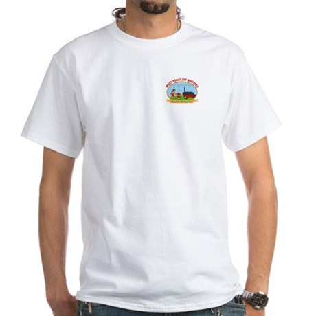 West Texas Pit Masters BBQ White T-Shirt