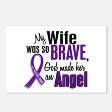 Angel 1 Pancreatic Cancer Postcards (Package of 8)