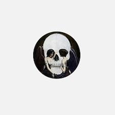 Skull Illusion Mini Button