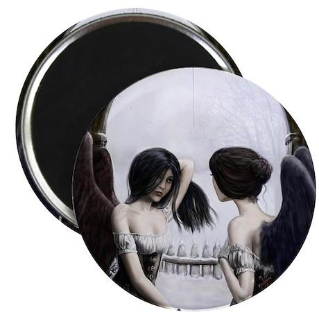 "Skull Illusion 2.25"" Magnet (10 pack)"