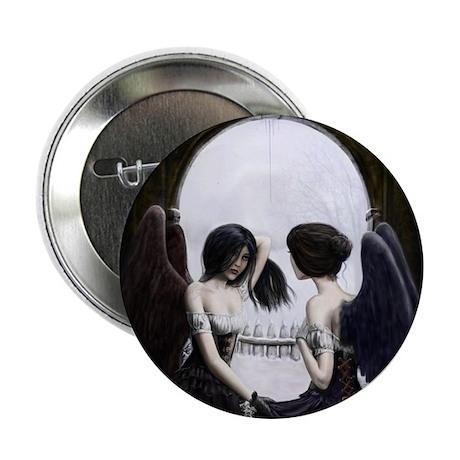 "Skull Illusion 2.25"" Button (10 pack)"