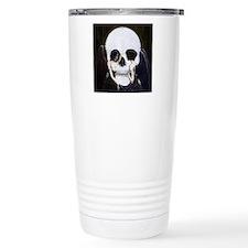 Skull Illusion Travel Mug