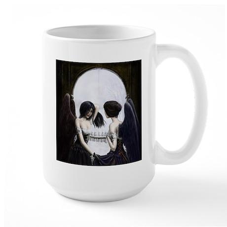 Skull Illusion Large Mug
