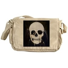 Skull Illusion Messenger Bag