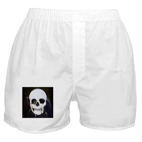 Skull Illusion Boxer Shorts