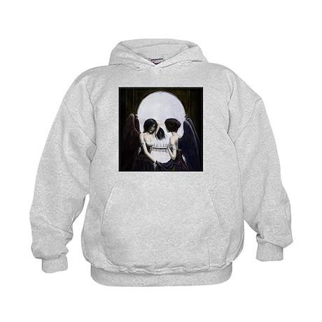 Skull Illusion Kids Hoodie