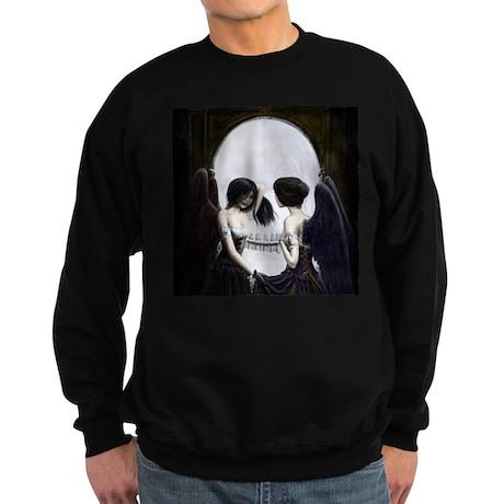 Skull Illusion Sweatshirt (dark)