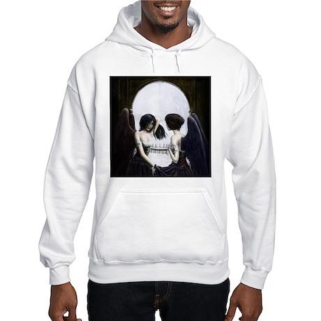Skull Illusion Hooded Sweatshirt