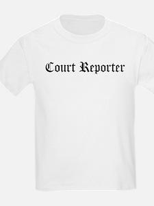 Court Reporter Kids T-Shirt