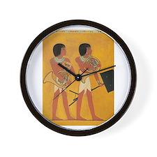 French Horn Duet Wall Clock
