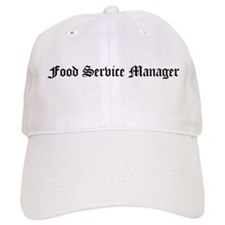 Food Service Manager Baseball Cap