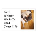 Faith Without Works is Dead Postcards (Package of