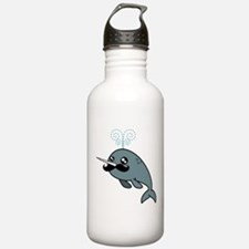 Narwhalstache Water Bottle
