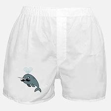 Narwhalstache Boxer Shorts