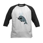 Narwhalstache Kids Baseball Jersey