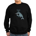 Narwhalstache Sweatshirt (dark)