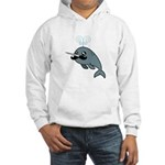Narwhalstache Hooded Sweatshirt