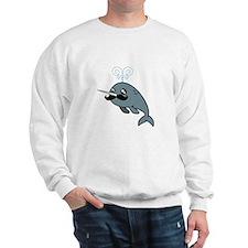 Narwhalstache Sweatshirt
