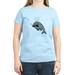 Narwhalstache Women's Light T-Shirt