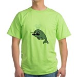Narwhalstache Green T-Shirt