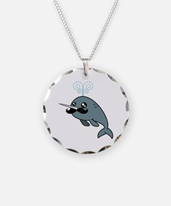 Narwhalstache Necklace