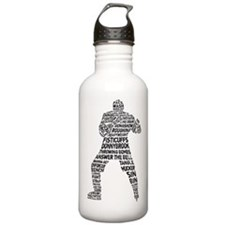 Hockey Fighter Goon Water Bottle