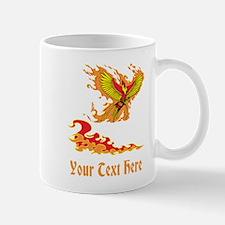 Phoenix and Custom Text. Mug