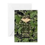 British Army Soldier Greeting Card