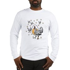 ChickenFlat Long Sleeve T-Shirt