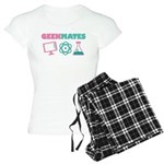 Geek Couples Dating Women's Light Pajamas